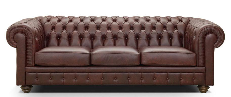 vendita divano modello chesterfield lavorazione capitonnè due 2 posti da ufficio